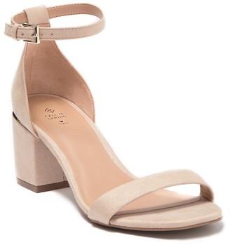 Call it SPRING Makenzie Block Heel Ankle Strap Sandal