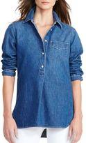 Lauren Ralph Lauren Long Sleeve Denim Tunic