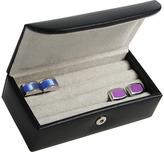 Royce Leather Men's Mini Cufflink Box 944-8