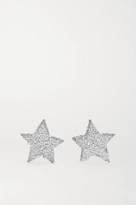 Carolina Bucci 18-karat White Gold Earrings