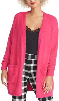 Rachel Roy Fuzzy Cardigan Sweater