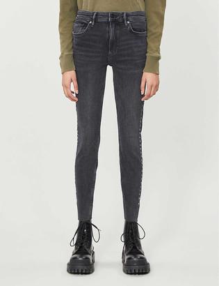 AllSaints Rock skinny high-rise jeans