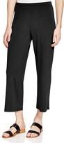 Eileen Fisher Petites Wide Leg Crop Knit Pants