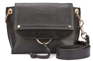Mint Velvet Marnie Black Leather Bag