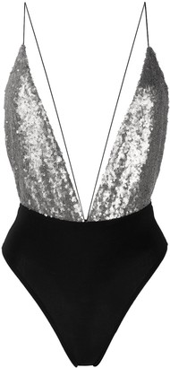 Alchemy Sequinned Sleeveless Top