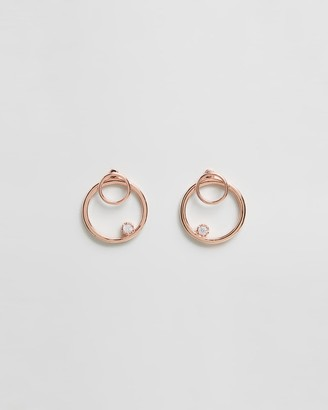 Jackie Mack Front-Facing Hoop Earrings