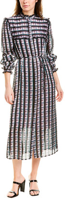 Jason Wu Plaid Shirtdress