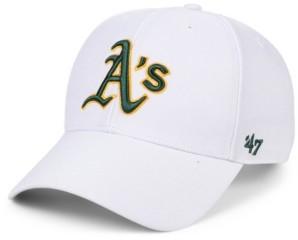 '47 Oakland Athletics White Mvp Cap