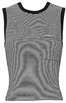 Alexander Wang Twisted Back Striped Tank