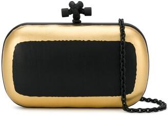 Bottega Veneta Pre Owned Intrecciato panel Knot bag