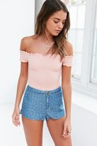 BDG Dolphin Dotted Low-Rise Soft Short