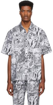 Diesel Black and White S-Wed-Kaos Shirt