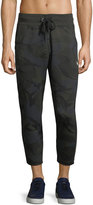 G Star G-Star Core Camouflage Cropped Sweatpants