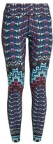 Mara Hoffman Rug-print performance leggings