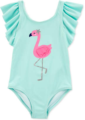 Carter's Carter Toddler Girls 1-Pc. Flamingo Swimsuit