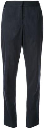 CHRISTOPHER ESBER Micro-Stripe High Waist Trousers