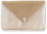 Kate Landry Crystal Mesh Envelope Flap Clutch