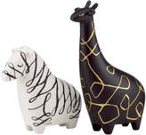 Kate Spade Salt and Pepper Shakers, Woodland Park Zebra and Giraffe