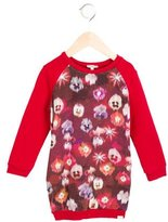 Paul Smith Girls' Floral Print Sweatshirt Dress
