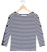 Kate Spade Girls' Striped Long Sleeve Top