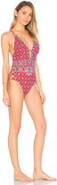 Nanette Lepore Pretty Tough Goddess One Piece