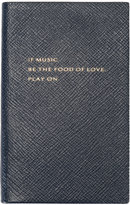 Smythson If Music Be The Food of Love book - unisex - Leather - One Size