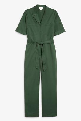 Monki Utility cotton jumpsuit