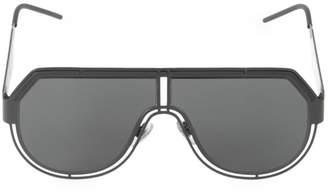 Dolce & Gabbana Charisma 59MM Solid Aviator Sunglasses