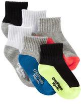 Osh Kosh 6-Pack Athletic Crew Socks