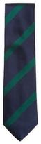 DeSanto Men's Striped & Ribbed Silk Tie