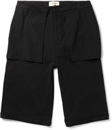 Public School - Mono Wide-leg Cotton Shorts