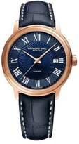 Raymond Weil Maestro Automatic Leather-Strap Watch