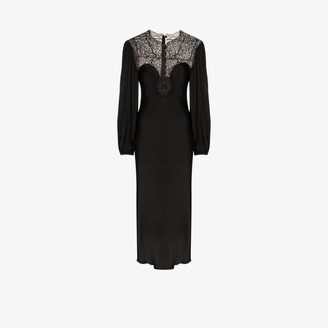 Christopher Kane lace yoke midi dress