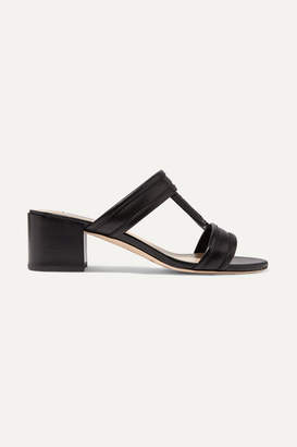 Tod's Leather Sandals - Black