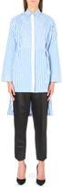 Rosetta Getty Striped cotton shirt