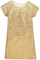 Very Sequin Gold Dress