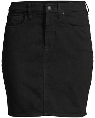 Hudson Lulu Denim Pencil Skirt