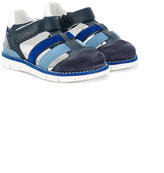Hogan sporty sandals - kids - Leather/Suede/rubber - 20