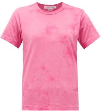 Comme des Garçons Comme des Garçons Tie-dye Cotton T-shirt - Pink