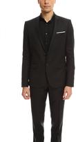 The Kooples Two Button Suit Jacket Black