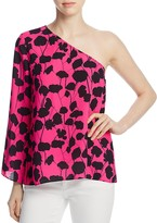 Vince Camuto Long-Sleeve Elegant Blossom Top - 100% Exclusive