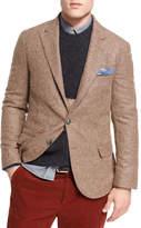 Brunello Cucinelli Alpaca-Wool Sport Jacket, Light Brown