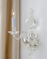 Horchow Visual Comfort George II Polished-Nickel Single Sconce