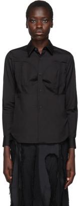 Comme des Garcons Black Breast Seam Detail Shirt