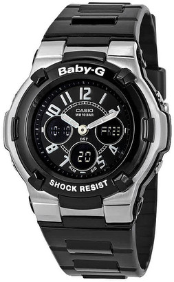 Casio Baby G Shock Resistant Black Multi-Function Sport Watch BGA110-1B2