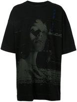 Juun.J face print oversized T-shirt - men - Cotton - M