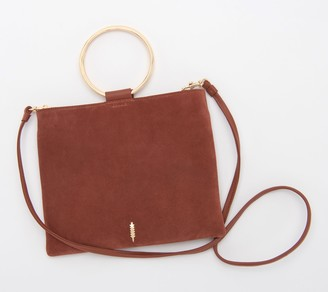 THACKER Leather Convertible Pouch with Ring Handle - Le