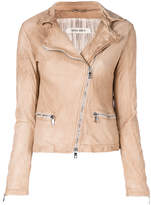 Giorgio Brato faded biker jacket