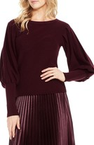 Vince Camuto Women's Bubble Sleeve Sweater