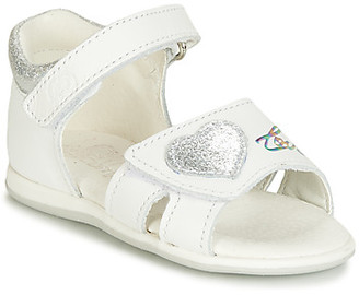 Citrouille et Compagnie JAFALGA girls's Sandals in White
